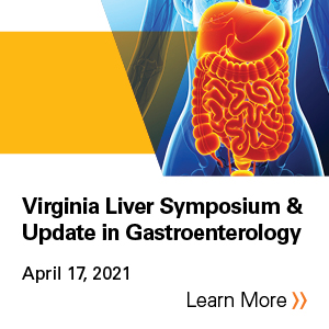 The 25th Annual Virginia Liver Symposium & Update In Gastroenterology Banner